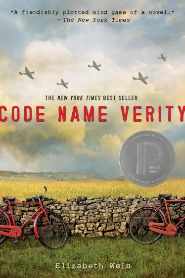 Code Name Verity by Elizabeth Wein Book Cover