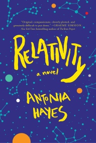 Book Cover - Relativity by Antonia Hayes