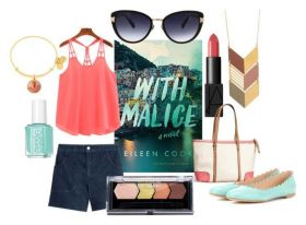 Book Style - With Malice by Eileen Cook