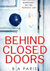 Book Cover - Behind Closed Doors by B.A. Paris