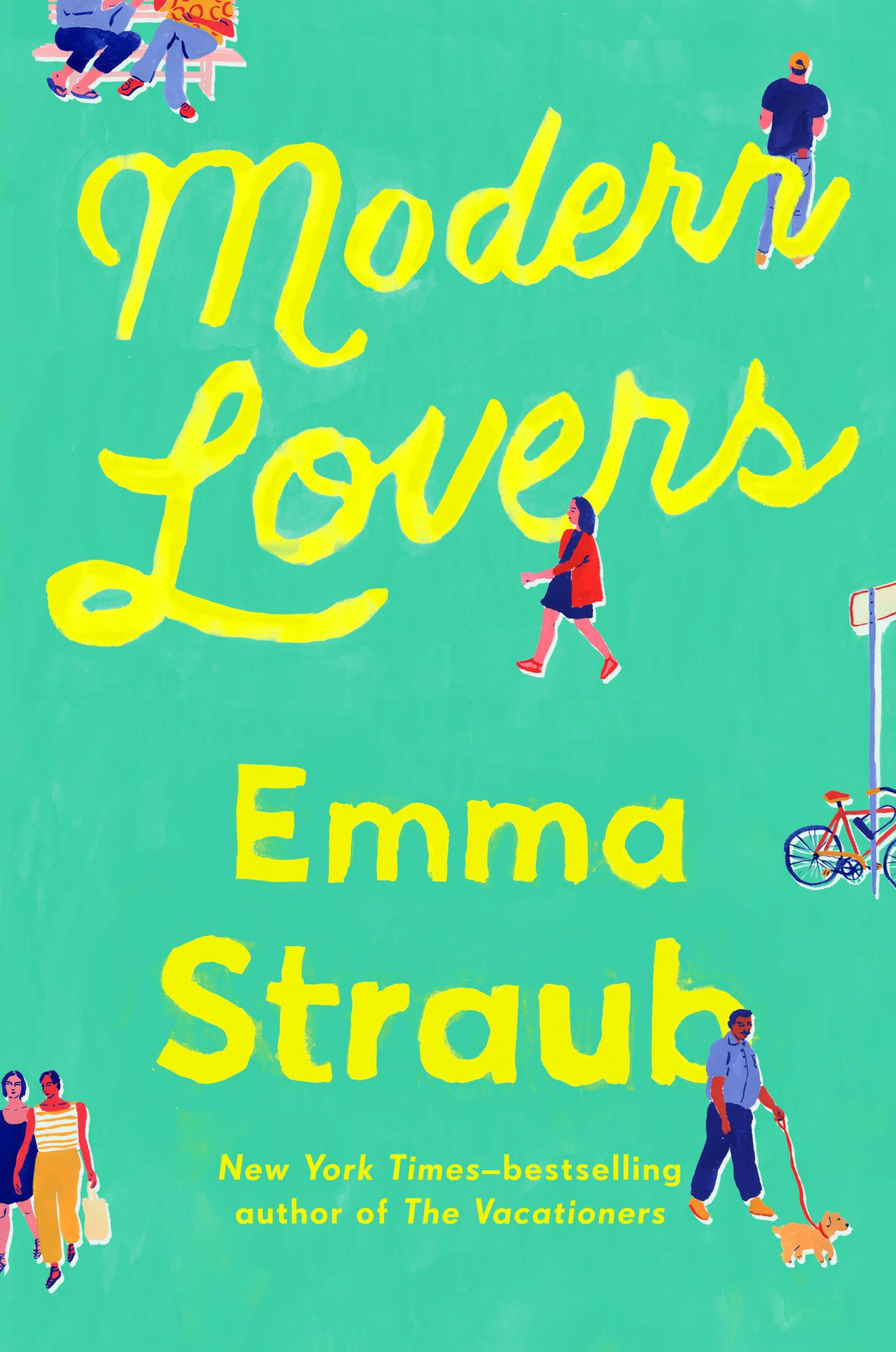 Book Cover - Modern Lovers by Emma Straub