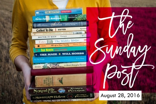 10. Sunday Post 8-28-2016