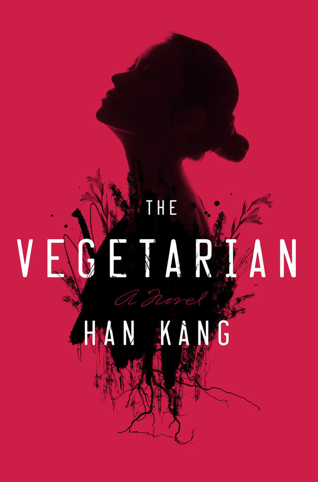 Book Cover - The Vegetarian by Han Kang