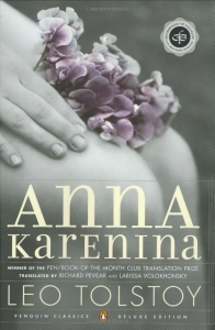 Book Cover - Anna Karenina by Leo Tolstoy