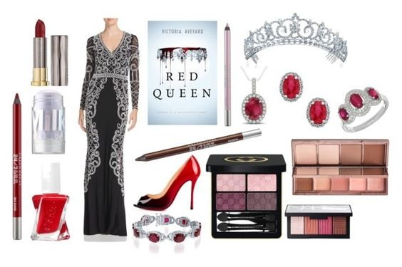 Book Style - Red Queen by Victoria Aveyard - Inspired by Queen Elara