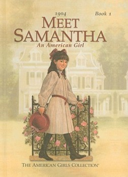 Book Cover - Meet Samantha (An American Girl)