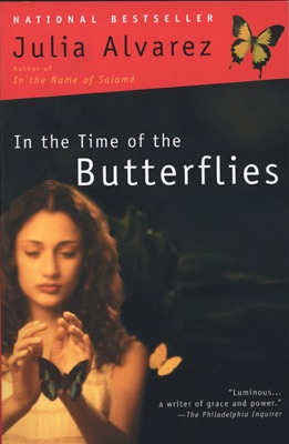 Book Cover - In the Time of the Butterflies by Julia Alvarez