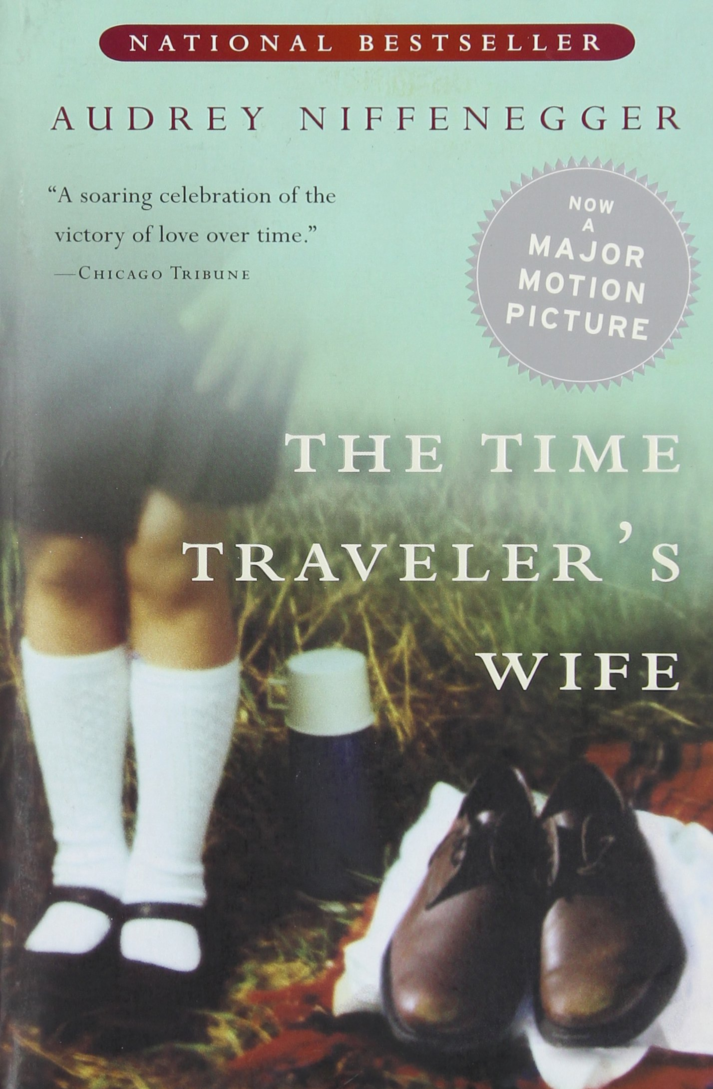 Book Cover - Time Traveler's Wife by Audrey Niffenegger