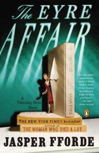 Book Cover - The Eyre Affair by Jasper Fforde