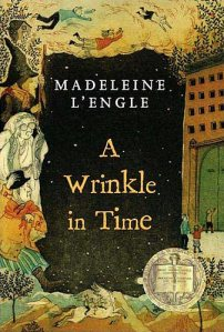 Book Cover - A Wrinkle in Time by Madeleine L'Engle