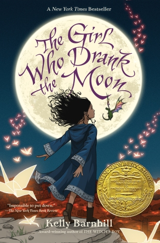 Book Cover - The Girl Who Drank the Moon