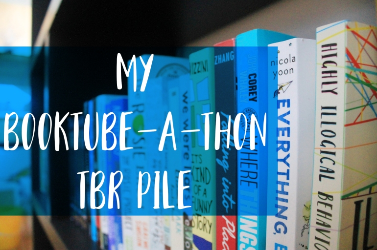 Booktube-a-Thon TBR Pile