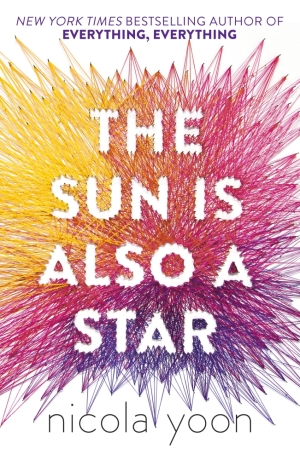 Book Cover - The Sun Is Also a Star by Nicola Yoon