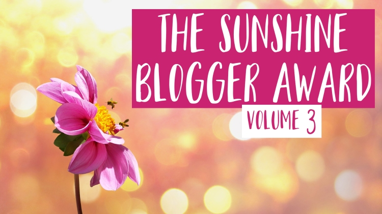 Sunshine Blogger Award 3