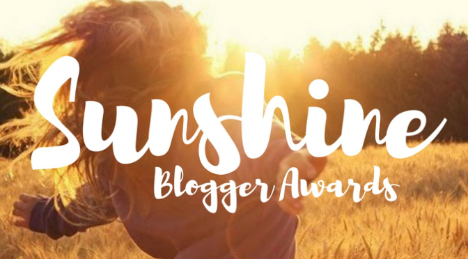 Sunshine Blogger Award - Volume 3