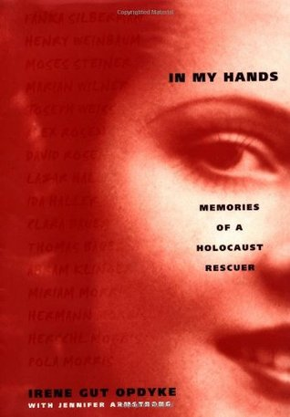 Book Cover - In My Hands by Irene Gut Opdyke