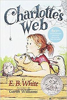 Charlotte's Web by E.B. White Book Cover