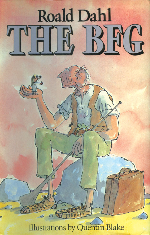 Book Cover - The BFG by Roald Dahl