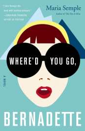 Where'd You Go, Bernadette? by Maria Semple - Cover