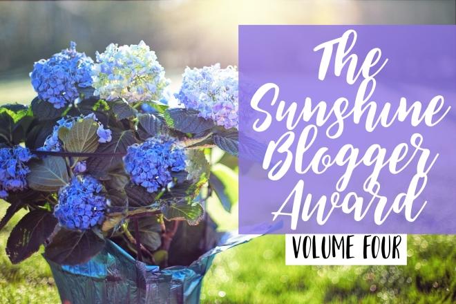 The Sunshine Blogger Award 4