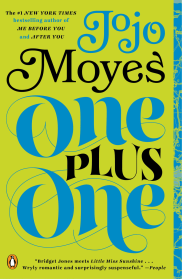 One Plus One by Jojo Moyes - Book Cover