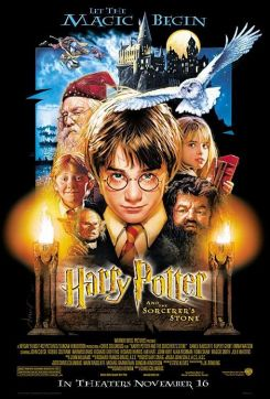 Harry Potter Movie Poster - Harry Potter and the Sorcerer's Stone