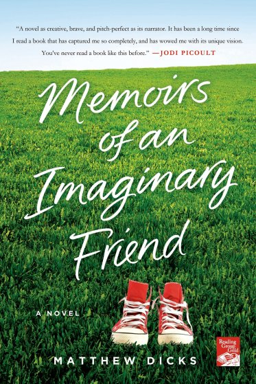 Memoirs of an Imaginary Friend by Matthew Dicks - Book Cover