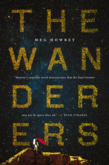 Book Cover - The Wanderers by Meg Howrey