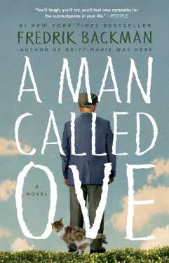 Book Cover - A Man Called Ove by Fredrik Backman