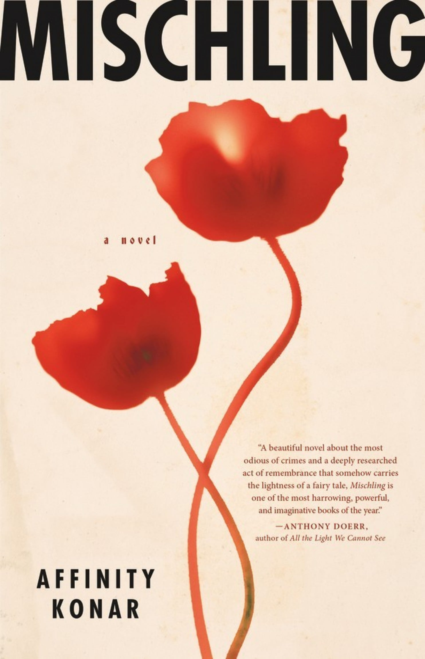 Book Cover - Mischling by Affinity Konar